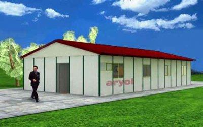 116.20 m² Prefabrik Ofis
